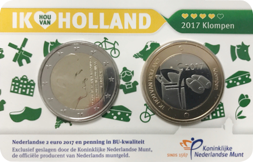 Holland Coincard 2017