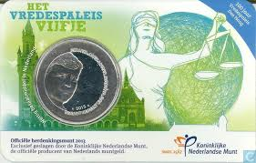 Vredespaleis vijfje 2013 coincard variant