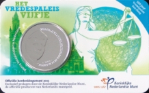 Vredespaleis vijfje 2013 coincard UNC