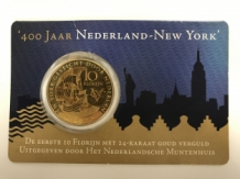 400 jaar New York 2009 coincard HNM